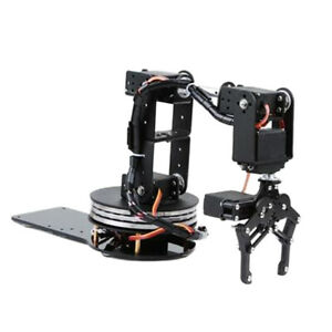 6dof Robot Arm Mechanical Robotic Clamp Claw With Mg996 Servos For Arduino