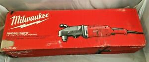 Milwaukee 1 2 Right Angle Drill 1680 20 13 Amp New In Sealed Box Free Shipping