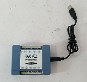 Mc Measurement Computing Usb 201 Data Acquisition Usb Daq Device 12 bit 100 Ks s