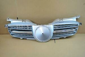 Silver Chrome Abs Front Grille Fits 1998 2004 Mercedes benz W170 R170 Slk Class