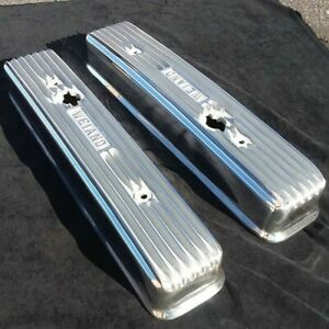 1953 66 Buick Nailhead 322 364 401 425 Polished Valve Covers Weiand