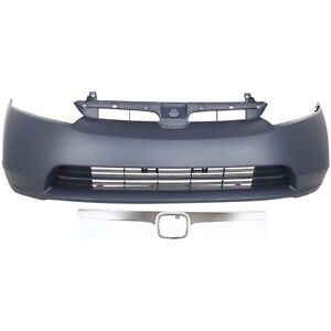 Bumper Cover Kit For 2006 2008 Civic Front Bumper Cover And Grille Assembly 2pc