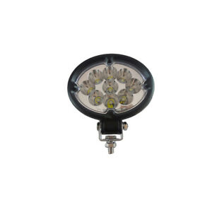 Led 630s Universal Led Oval Cab Light 9 32 Volt 27 Watt 1900 Lumens