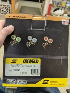 Esab Oxweld Regulator R 77 150 350 High Pressure Fuel Gas
