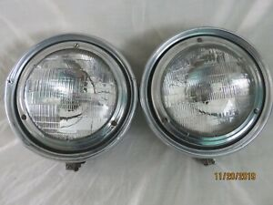 Guide Twilite Headlamps Headlights Rat Hot Rod Lower Rider Chevy Ford Ply Buick
