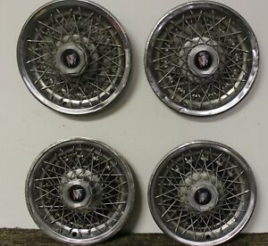 Oem 14 Wire Type Hub Cap Wheel Covers 25501347 1979 Buick Century Regal W199