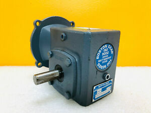Boston Gear F715 10b5 j Right Hand Output Worm Gear Reducer Tested