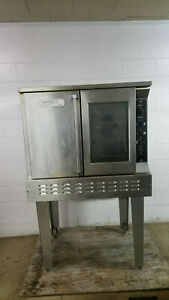 Royal Rang Rco 1 Full Size Convection Oven Nat Gas 120 Volts 1 Phase Tested