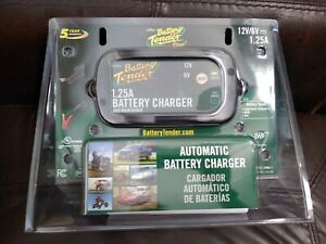 Battery Tender Plus 12v 1 25a Battery Charger And Maintainer
