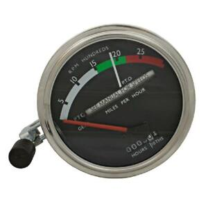 Tachometer Gauge Red Needle For John Deere 4520 600 4620 4000 4020 Ar32827