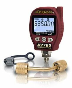 Appion Av760 Full Range Digital Vacuum Gauge