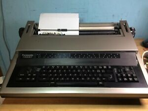 Panasonic 7000i Electric Typewriter Kx e7000 needs Ribbon