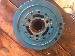 Gm Big Block Bbc 454 502 8 2 7 4 Crankshaft Harmonic Balancer Used