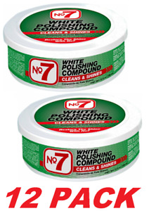 Cyclo No7 White Polishing Compound 07610 Removes Scratches Cleans Shines 12 Pk
