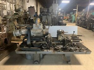 Warner Swasey No 4 Turret Lathe With Some Tooling