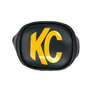 Kc Hilites 5303 Hard Light Cover 3 In Rect Black W Yellow Kc Soft Pair