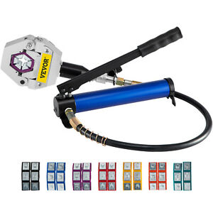 Separable Hydraulic Hose Crimper 7 Dies Air Condtioning Handheld Crimping Set