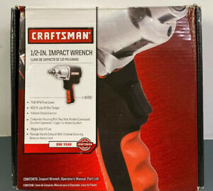 Craftsman 916882 1 2 in Impact Wrench New In Box