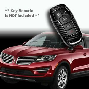 For Ford Mustang Edge F150 Fusion Real Carbon Fiber Remote Key Shell Cover Case