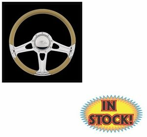 Billet Specialties 29301 Impact Select Edition Steering Wheel polished 14
