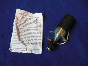 New Sc Spares A Type Overdrive Solenoid Aston Martin Db2 Db2 4 Db Mk 3 20431