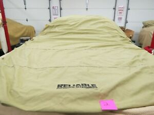 Reliable Motoring C3 Corvette Indoor Car Cover Tan 1968 1982 Nice Used Cond