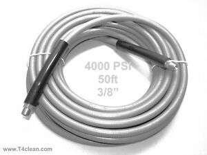 Carpet Cleaning 50ft Pressure Washer Hose