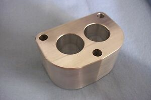 Fits Stromberg 97 Ford Holley 94 Flathead Intake Manifold Spacer Aluminum 2 D