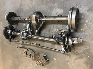 Pair Dana 44 Widetrack Rear Dana 30 Front 3 31 Axles 1986 Jeep Cj5 Cj7 Cj8