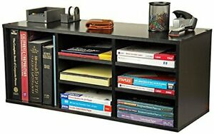 Adjustable Office Desk Organizer Home Book Documents 9 compartment Stackable New