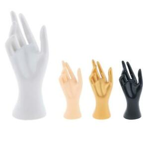 Mannequin Hand Jewelry Glove Ring Bracelet Display Stand Holder