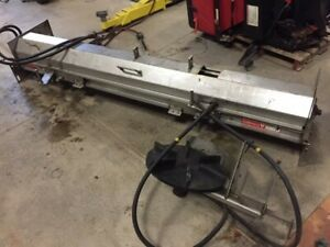 Salt Spreader Stainless Steel Hydraulic Under Tailgate Buyers 96 Wide