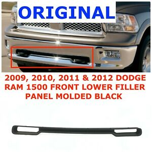 2009 2010 2011 2012 Dodge Ram 1500 Front Bumper Filler Panel 68088194aa