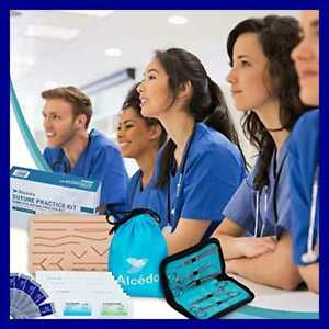 Suture Practice Kit For Medical Students By Include Durable Large Suturing Pad W