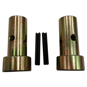 Pair Of Fits Cat 1 Quick Hitch Adapter Bushings category 1 3 Pt Tractor Busing S