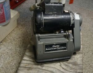 Clarke Ez 8 Drum Floor Sander Solid Serviceable Condition Runs Great