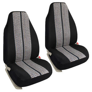 Saddle Blanket Pickup Trucks Full Size Bucket Seat Covers Fit For Ford Chevy