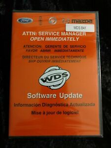 Ford Mazda Wds B41 Software Update Cd In Sealed Case New