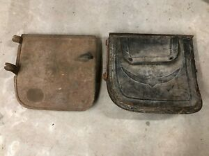 Early Ford Model A T Era Open Car Doors Handle Rat Rod W Leather Pockets Old