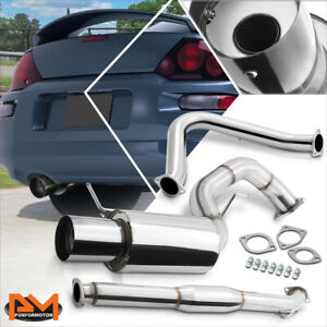 For 00 05 Mitsubishi Eclipse Gt 3 0 V6 4 Tip Muffler S s Catback Exhaust System