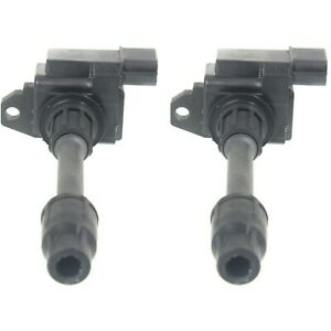 Ignition Coil For 2000 Nissan Maxima Infiniti I30 Set Of 2 Radiator Side