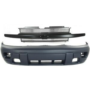 Bumper Cover Kit Trailblazer Front For Models With Fog Lights With 2 tone Paint