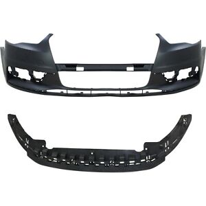 New Bumper Cover Facial Kit Front Au1000218 Au1091102 8v5807065gru 8v5807233