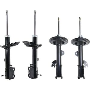Shocks For 2009 2012 Toyota Venza Awd Front And Rear Left And Right Set Of 4