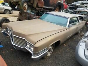 Hood For 69 70 Cadillac Deville