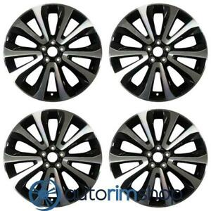 New 18 Replacement Wheels Rims For Subaru Forester 2016 2018 Set Machined Wi