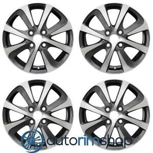 New 15 Replacement Wheels Rims For Toyota Prius 2018 2019 Set Machined With Cha