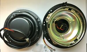 Pr 1955 56 1957 Chevy Gmc Truck Headlight Buckets W Sealed Beam Rings Free Ship