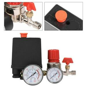 Air Compressor Pressure Control Switch Valve Manifold Regulators Assembly Parts