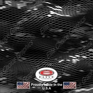 Asper Black Camo Decal Wrap Vinyl 52 X15 Truck Print Real Camouflage